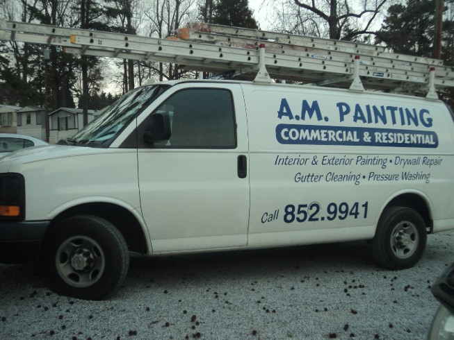 About us house painters greensboro nc am painting for Exterior painting greensboro nc